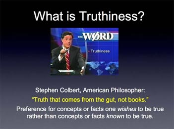 truthiness article